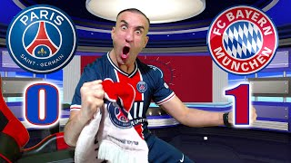 PARIS SG 0-1 BAYERN / ON EST EN DEMI-FINALE!!!!!!