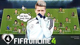 FIFA ONLINE 4   Đội Hình FULL +8 Tuyển Đức Của CHỦ TỊCH Với Đại Chiến NGHẸT THỞ Cùng NDC Huy Hoàng