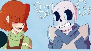 Sans x Chara is so adorable【 Undertale Animation - Undertale Comic dubs 】