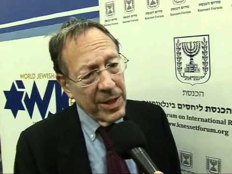 Irwin Cotler Interview - Knesset Forum Relaunch