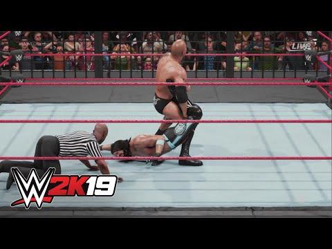 WWE 2K19 cover Superstar showdown: Elimination Chamber Match
