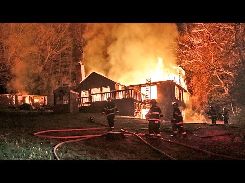 Downs Rd. Fire (Monroe, CT) 5/3/16