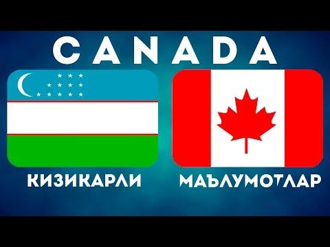 КАНАДА — КИЗИКАРЛИ МАЪЛУМОТЛАР / CANADA / KANADA / КАНАДА ХАКИДА УЗБЕК ТИЛИДА