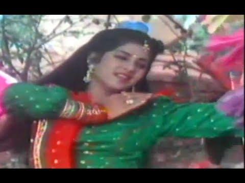 Tere Sur Mein Main Gaaoon feat Divya Bharti - Movie Geet - Alka Yagnik & Debashish Dasgupta