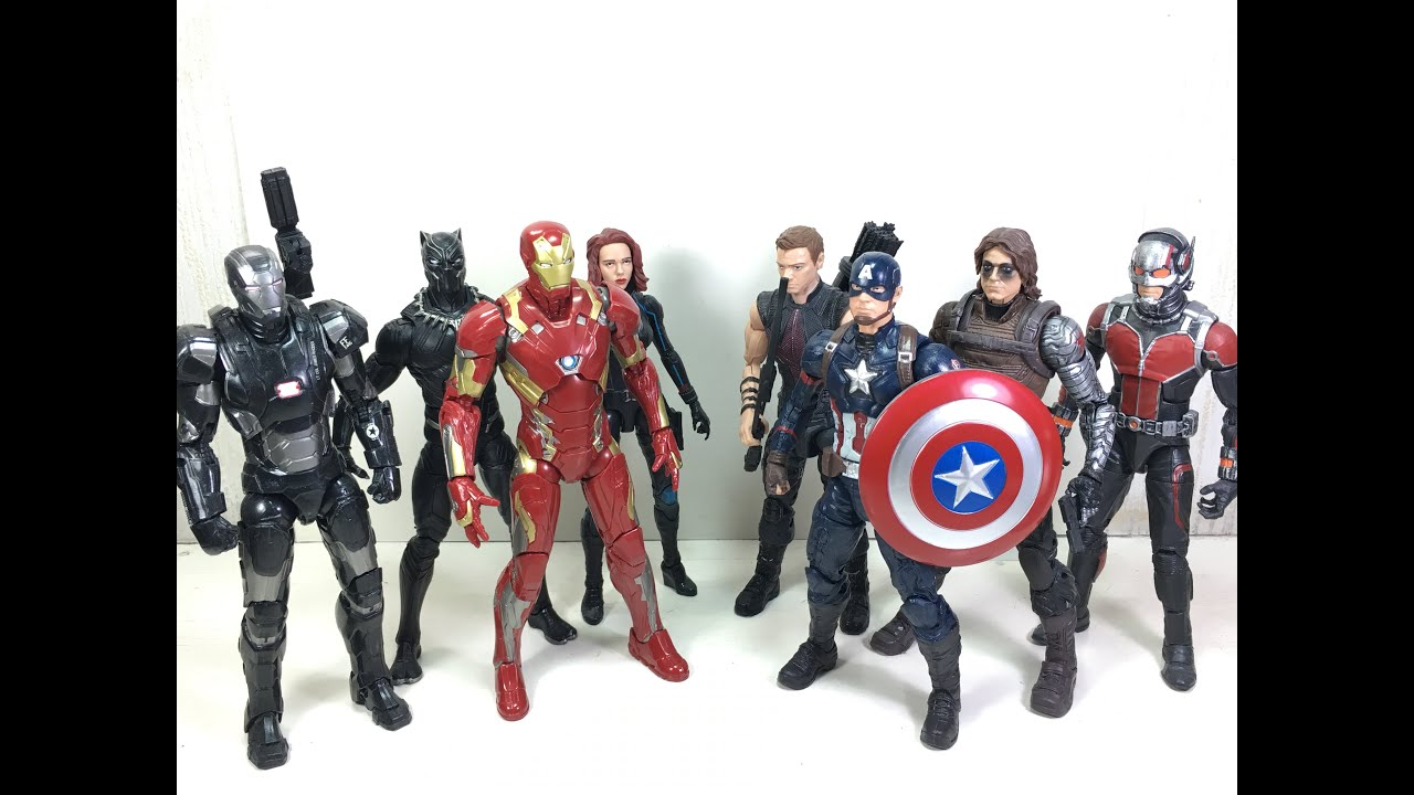 Marvel Legends Super Hero Civil War Action Figure Captain America WITH BOX set