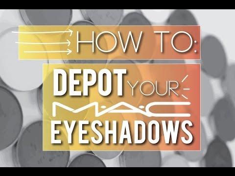 How To: Depot Your MAC Eyeshadows {Makeup Geek} thumbnail