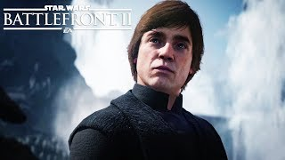 STAR WARS: BATTLEFRONT 2 All Luke Skywalker Scenes