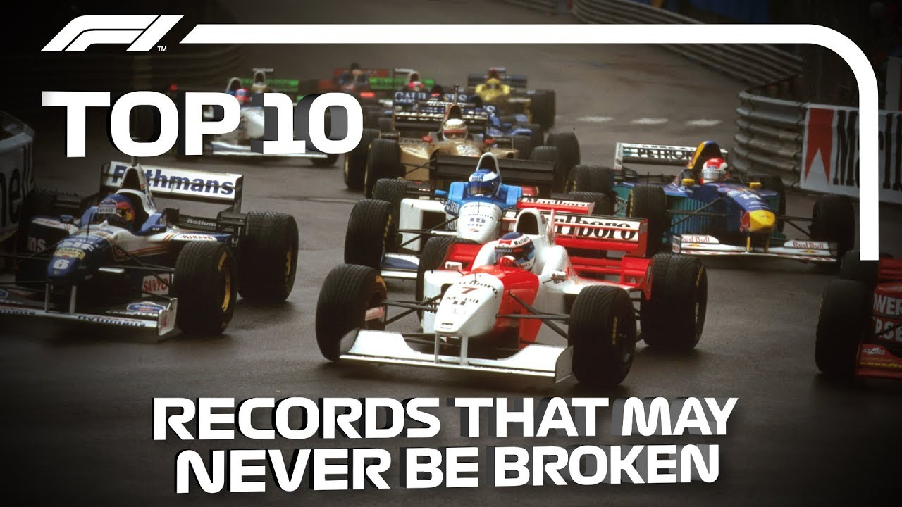 Top 10 F1 Records That May Never Be Broken | Race 1000