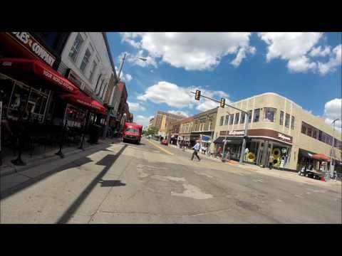 Biking Ann Arbor, MI 2017