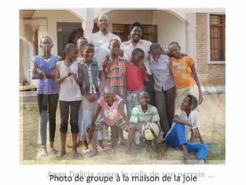 Diaporama photos de filleuls au Burundi