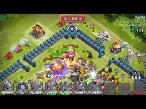 Castle Clash - Guild Wars Against WKEU Again!
