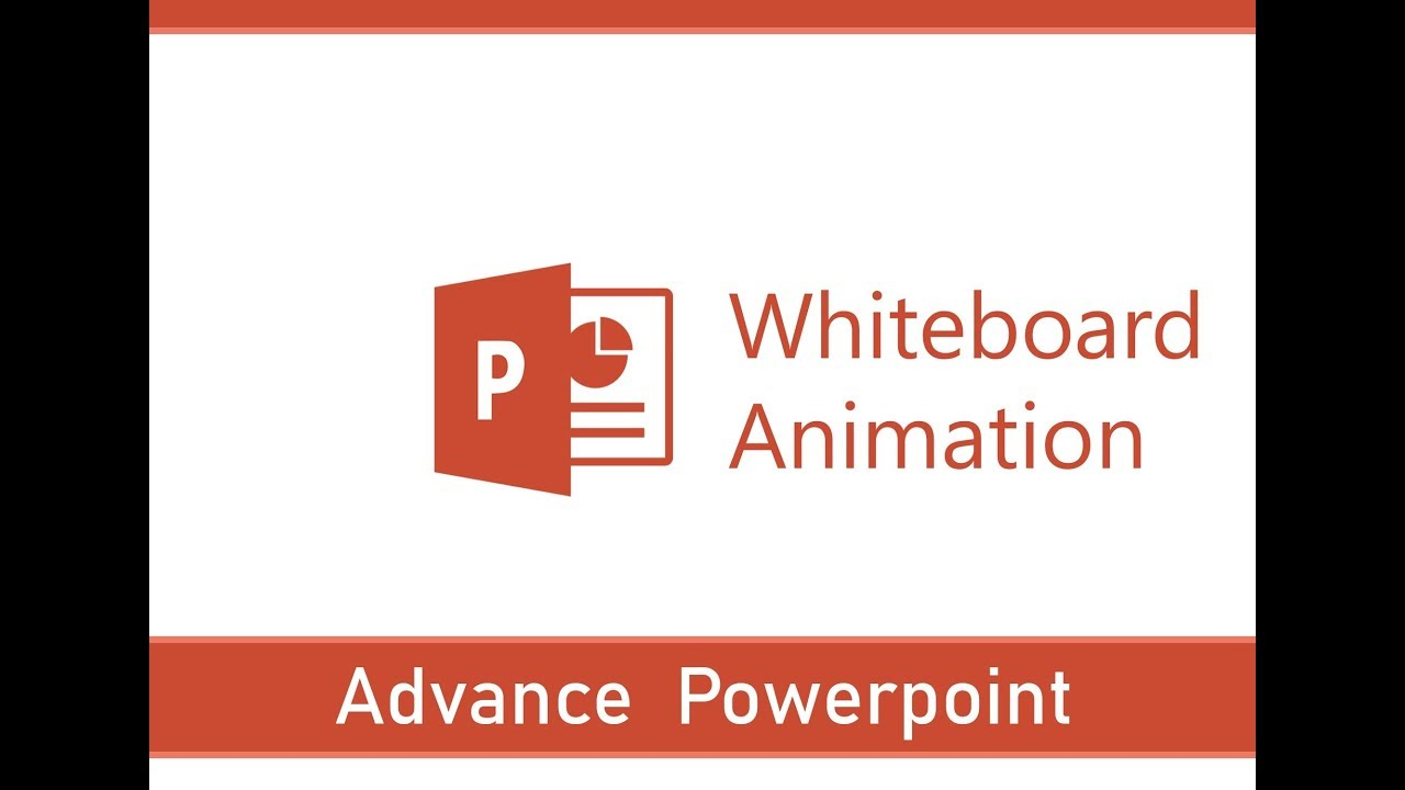 whiteboard animation in powerpoint steps for white board animation