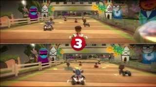Little Big Planet Karting SplitScreen Pt1