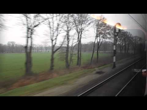 IC 145 Almelo to Bad Bentheim (includes NS-DB loco exchange)