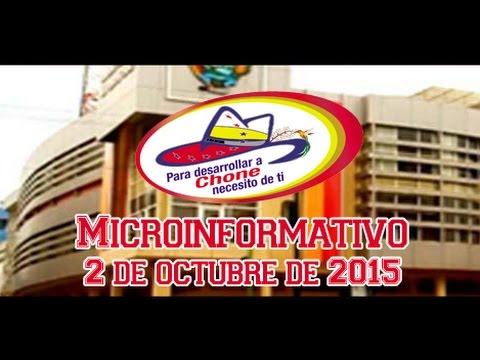 Microinformativo 2 octubre 2015
