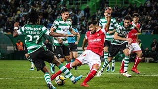 Video Gol Pertandingan Sporting CP vs Sporting Braga