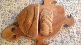 Бездрожжевой ржаной хлеб