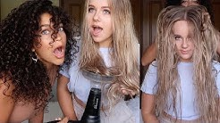 CAN YOU MAKE STRAIGHT HAIR CURLY?