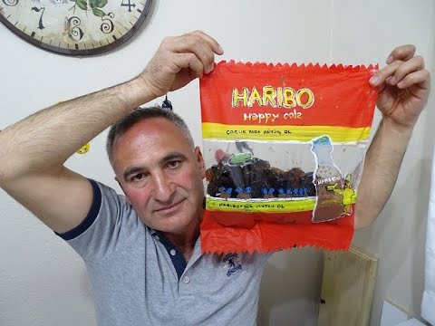 HARIBO HAPPY COLA JELİBON NASIL YAPILIR   HOW TO MAKE HARIBO