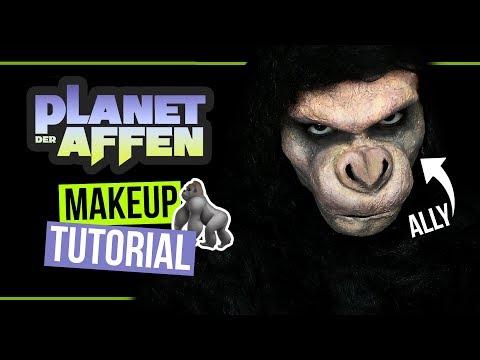 GORILLA-TRANSFORMATION! 🐒 • SFX Makeup Tutorial • Planet der Affen: Survival