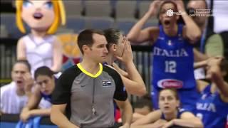 SKY SPORT HD - Italia vs Lettonia: l'assurdo fallo antisportivo sanzionato a Zandalasini