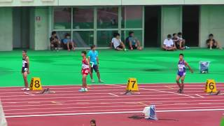 H29年度 学校総合 埼玉県大会 中学男子200m決勝 thumbnail