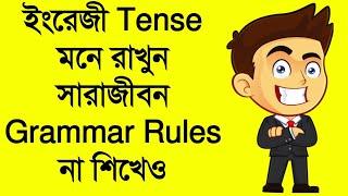 ইংরেজিতে Tense মনে রাখুন গ্রামারের নিয়ম না জেনেও|Learn English Tense without Grammar Rules| ইংরাজি