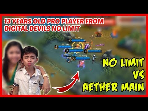 Kiel VJ | The Youngest Pro Player Who Defeated Aether Main - Mobile Legends