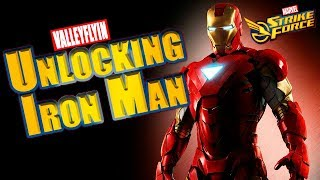 Marvel Strike Force - Unlocking Iron Man