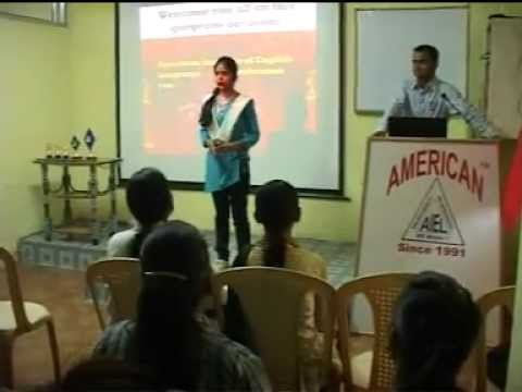 AMERICAN INSTITUTE OF ENGLISH LANGUAGE PVT. LTD. JABALPUR.
