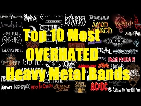 Top 10 Most OverHATED Heavy Metal Bands