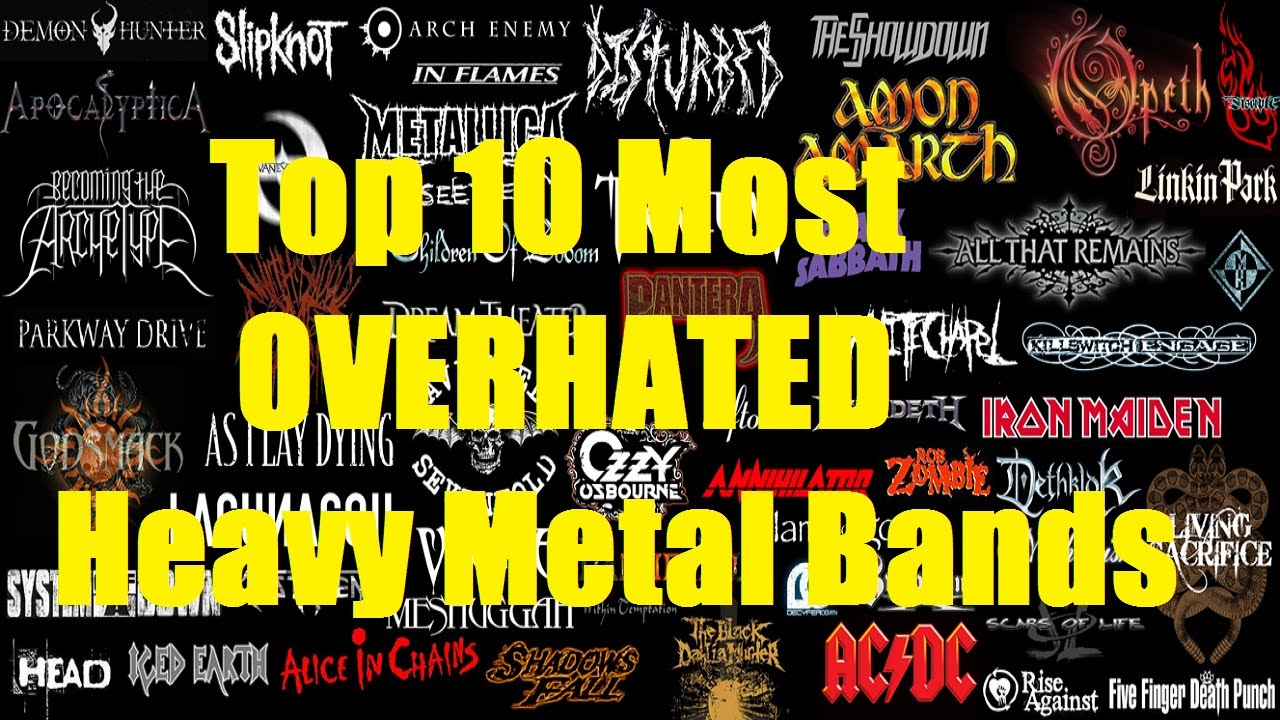 top 10 most overhated heavy metal bands youtube. Black Bedroom Furniture Sets. Home Design Ideas