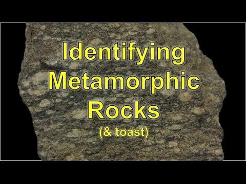 Metamorphic Rocks (& toast)
