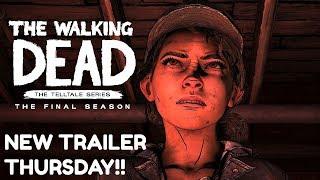 "The Walking Dead:Season 4: ""The Final Season"" Official Trailer Thursday - (Telltale Games)"