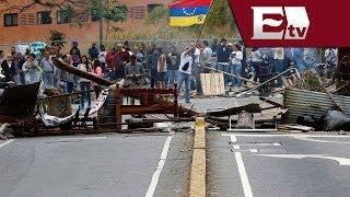 Venezuela: impactantes imágenes de la Guardia Nacional arremetiendo contra manifestantes