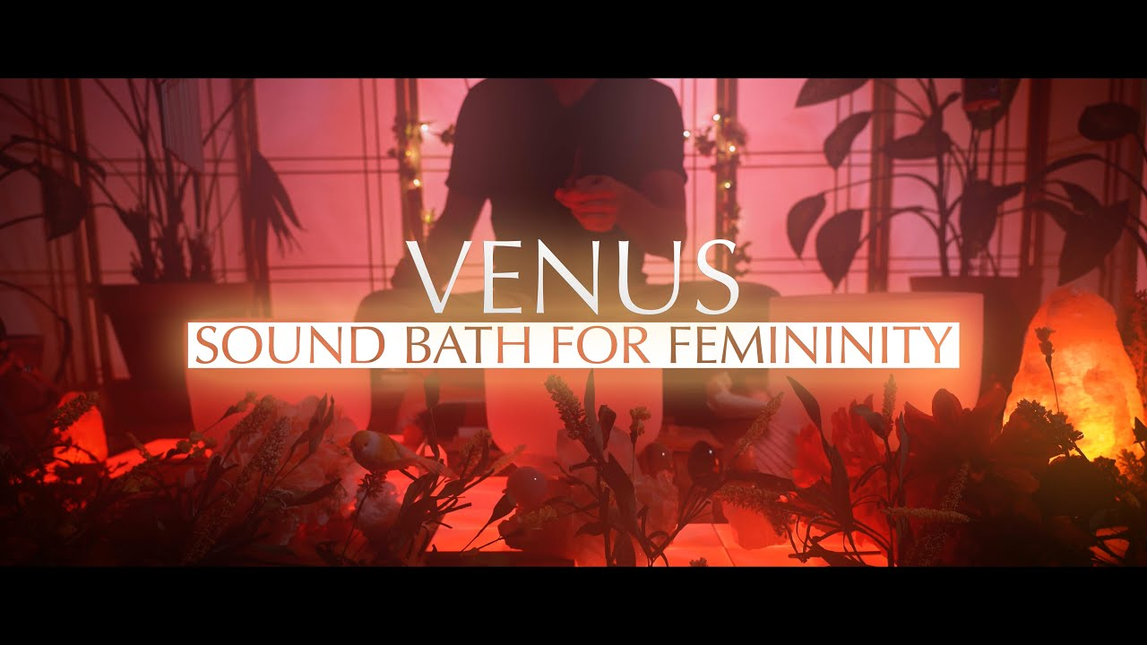 Sound Bath for Venus | Brain Tingles | Crystal Singing Bowls | Brain Massage | Sleep Sounds | Chakra