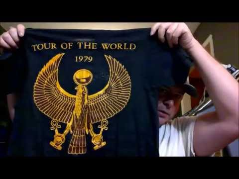 Life Is Shirty - Small T-Shirt Haul & Vintage 70's T-Shirt's - Black Sabbath, Jethro Tull, etc..