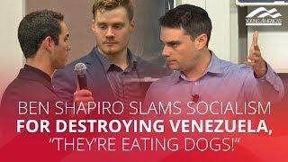 Ben Shapiro SLAMS socialism for destroying Venezuela,