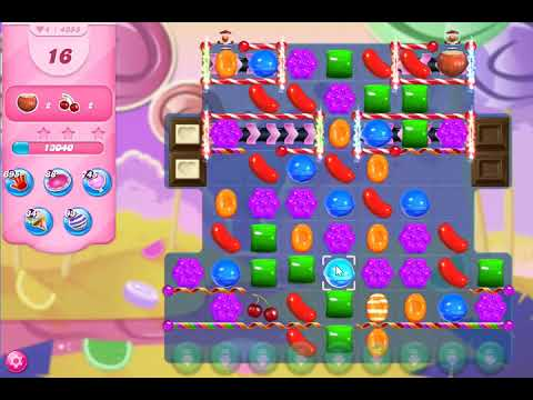 Candy Crush Saga Level 4355 NO BOOSTERS