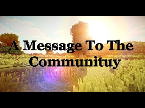 A Message To The HCF Community