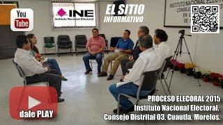 EL SITIO INFORMATIVO (19 de Diciembre del 2014) - PROCESO ELECTORAL 2015 - INE