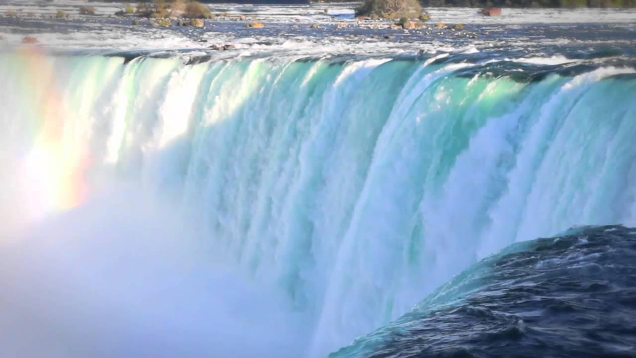 Experts drain niagara falls revealing lost history