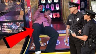 CHEATING at Circus Circus Arcade gone WRONG