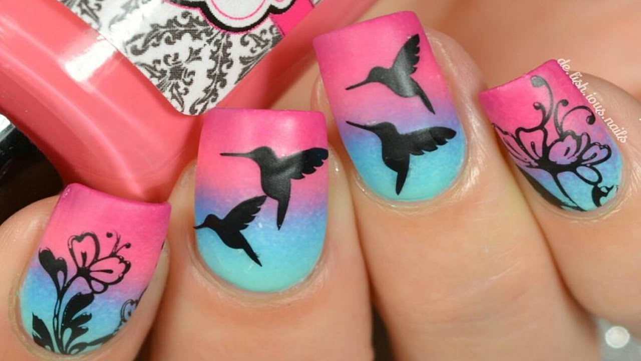 & Nail Art Designs u0026 Ideas | Best Nail Art Compilation - YouTube