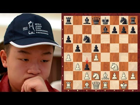 Mega-exciting notable game! : Wei Yi vs Bedri Sadiku : Chess Olympiad (2016) :French Defense