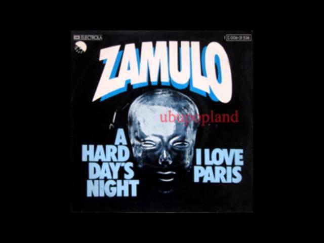 Zamulo - A hard days night - Glam psych Sitar fuzz electro Psych