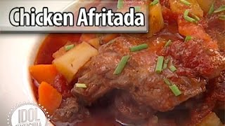 Recipe: Chicken Afritada