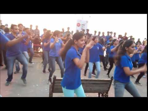 IIM Kozhikode - Calicut Marathon - FlashMob@Beach