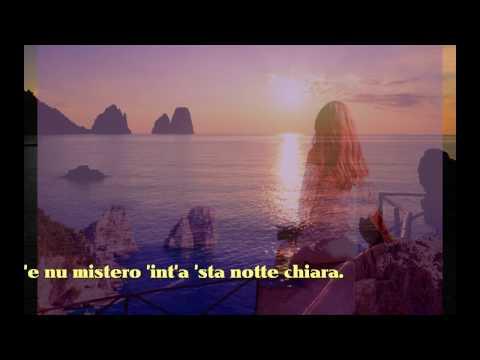 Peppino Di Capri Luna Caprese con testo video Mario Ferraro