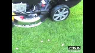 Газонокосилка Stiga Turbo EXCEL 55 S4 INOX B